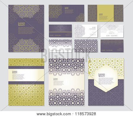 Banners set of templates