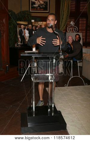 LOS ANGELES - FEB 12:  Bryton James at the Kristoff St John celebrates 25 Years at YnR at the CBS Television City on February 12, 2016 in Los Angeles, CA