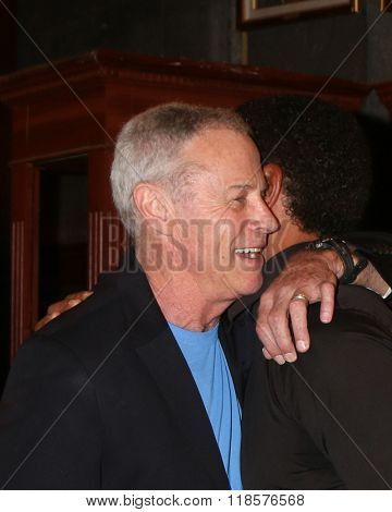 LOS ANGELES - FEB 12:  Tristan Rogers, Kristoff St John at the Kristoff St John celebrates 25 Years at YnR at the CBS Television City on February 12, 2016 in Los Angeles, CA
