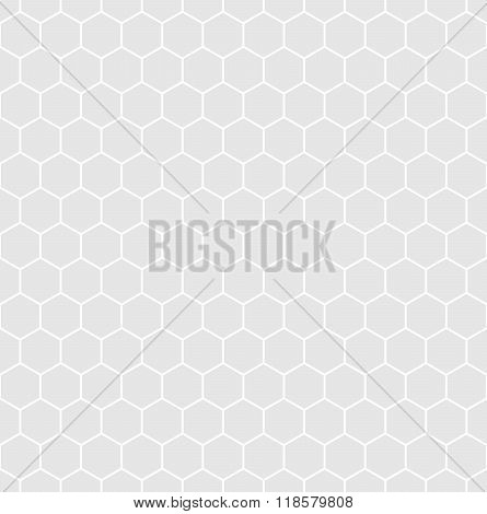 Seamless hexagonal background