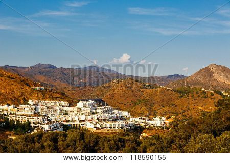 Residential area of Malaga
