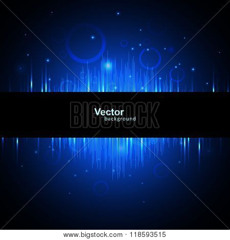 Vector beautiful line