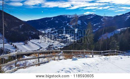 Austrian Alps Scenery In Carinthia