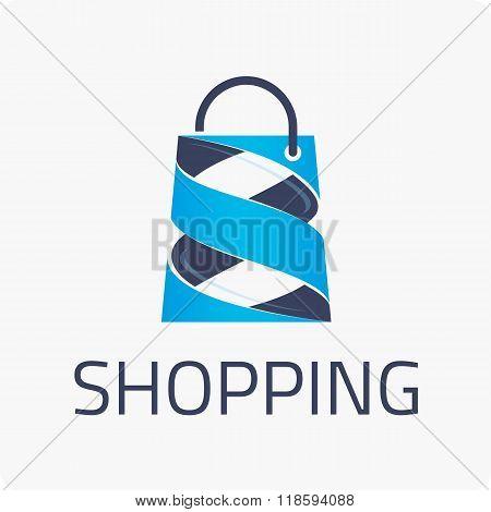 Template logo shopping