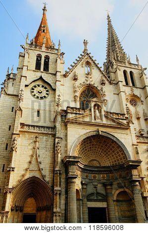 St Nizier Church In Lyon France