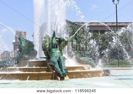 Swann Memorial Fountain, Philadelphia