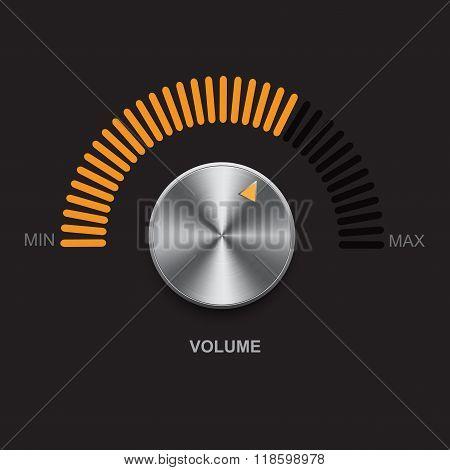 Metal Volume Button
