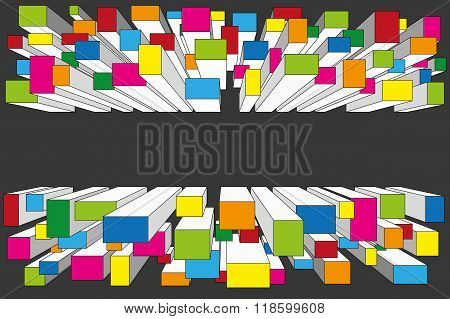 Colorful Perspective Background