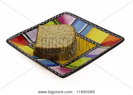 Colorful Sandwich Plate