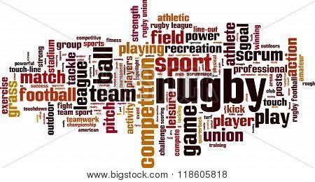 Rugby Word Cloud