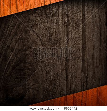 rough wood template background