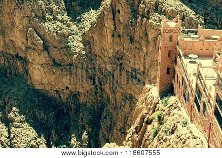 Dades Gorges Valley, Morocco, Africa