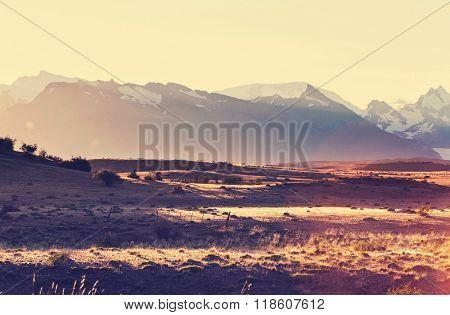 Rural landscapes in Argentina