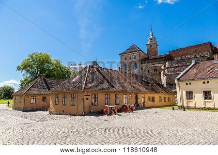 Castle Akershus Fortress In Oslo