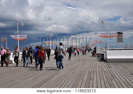 Sopot Famous Pier