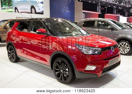 Ssangyong Tivoli The New 4X4 Crossover Suv Car