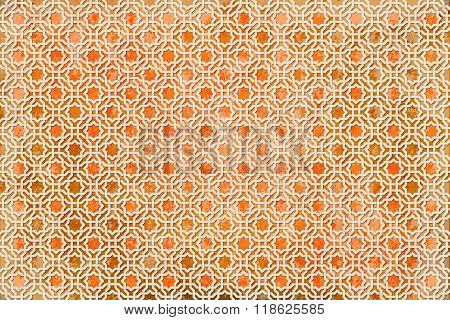 background ancient arabian color grunge ornament. seamless pattern. pattern generated in  computer.vector illustration