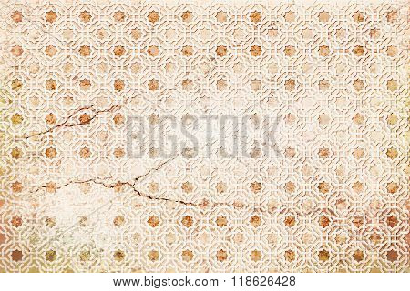 background ancient arabian beige ornament. with strach. seamless pattern. pattern generated in  computer.vector illustration