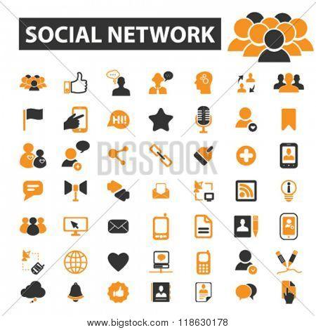 social network icons, social network logo, social media icons vector, social media flat illustration concept, social media logo, social media symbols set, networking, connection, communication