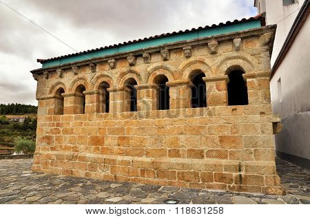 Ancient town of Braganca, north of Portugal.