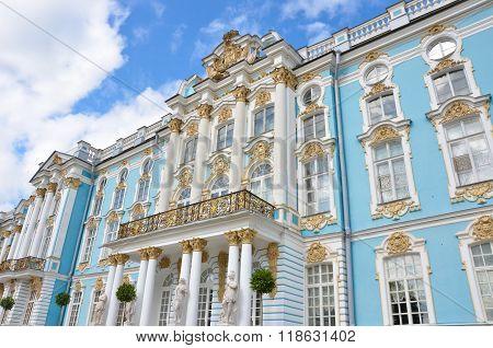 Catherine Palace And Blue Sky