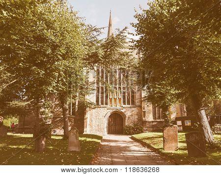 Holy Trinity Church In Stratford Upon Avon Vintage