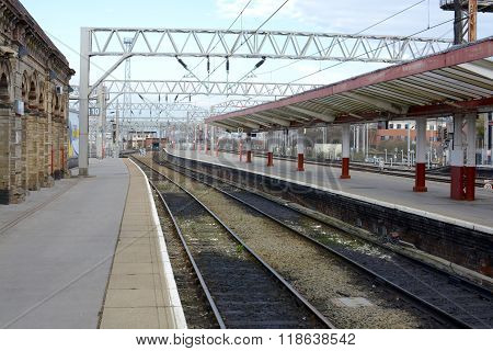 Crewe Railway Station