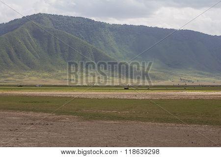 The Ngorongoro Crater Wall
