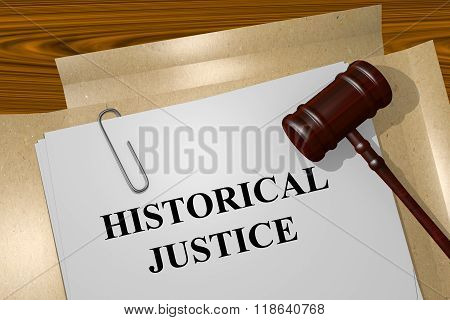 Historical Justice Concept