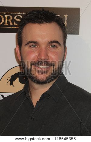 LOS ANGELES - FEB 16:  Lex Cassar at the Forsaken Los Angeles Special Screening at the Autry Museum of the American West on February 16, 2016 in Los Angeles, CA