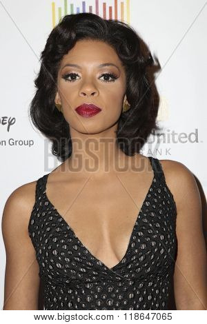 LOS ANGELES - FEB 10:  Angel Parker at the African American Film Critics Association 7th Annual Awards at the Taglyan Complex on February 10, 2016 in Los Angeles, CA