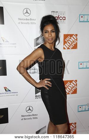 LOS ANGELES - FEB 10:  Khandi Alexander at the African American Film Critics Association 7th Annual Awards at the Taglyan Complex on February 10, 2016 in Los Angeles, CA
