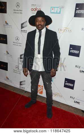 LOS ANGELES - FEB 10:  Anthony Hamilton at the African American Film Critics Association 7th Annual Awards at the Taglyan Complex on February 10, 2016 in Los Angeles, CA