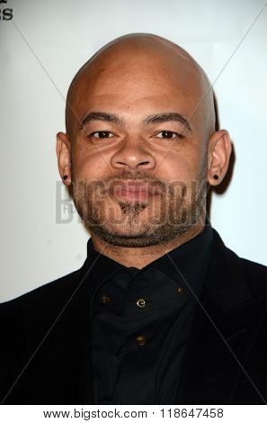 LOS ANGELES - FEB 10:  Anthony Hemingway at the African American Film Critics Association 7th Annual Awards at the Taglyan Complex on February 10, 2016 in Los Angeles, CA