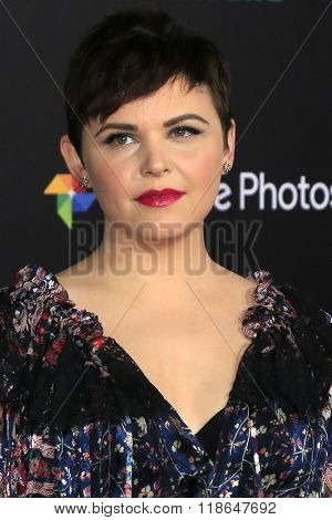 LOS ANGELES - FEB 17:  Ginnifer Goodwin at the Zootopia Premiere at the El Capitan Theater on February 17, 2016 in Los Angeles, CA