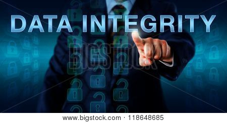 It Manager Pushing Data Integrity