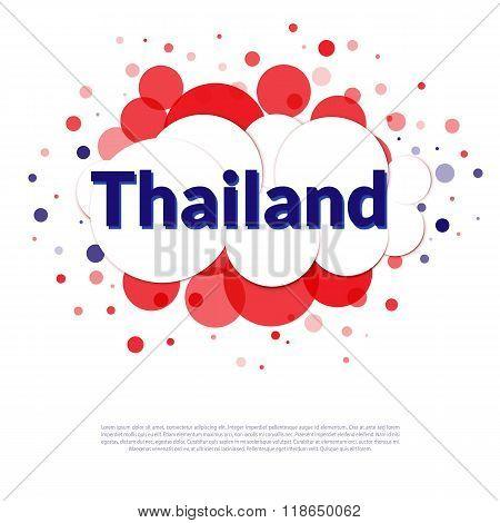 Thailand Flag Banner