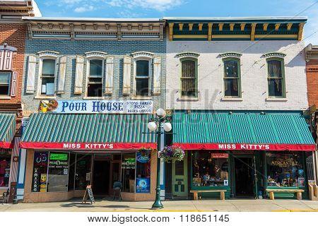 Historic Buildings In Deadwood, Sd