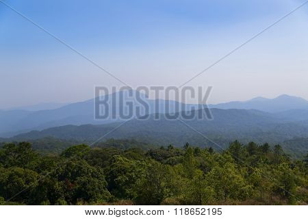 View from Doi Inthanon.