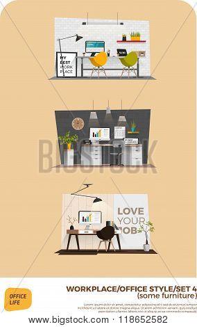Modern office style