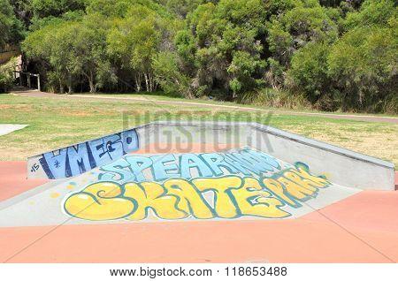 Spearwood Skate Park: Tagging