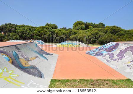 Skate Park Spine