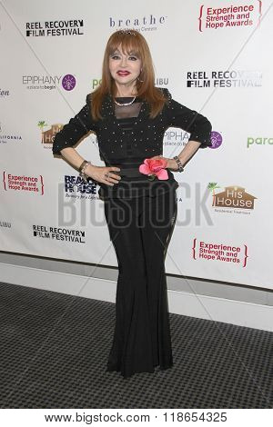 Judy Tenuta arrives at the