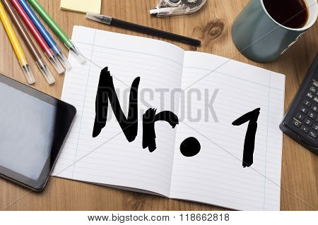 Nr. 1 - Note Pad With Text