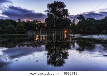Victoria Lake Reflection
