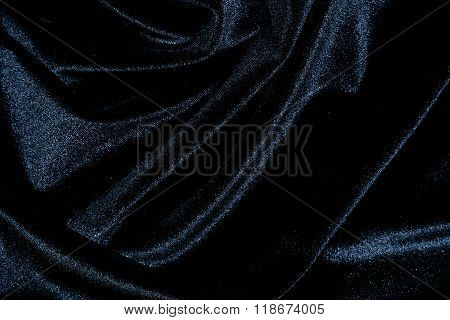 Black silk velvet background