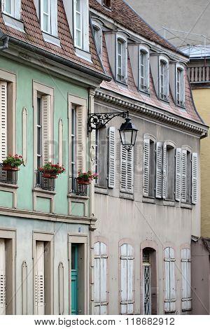 Buildings In Colmar
