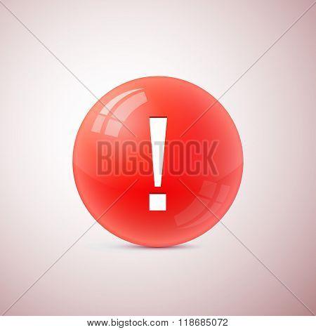 Vector Exclamation Mark Symbol