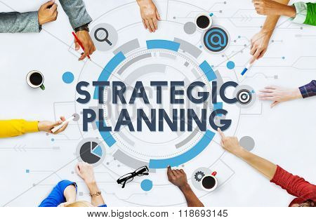 Strategic Planning Process Action Plan Concept