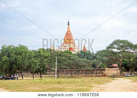 Ananda Temple in Bagan Myanmar